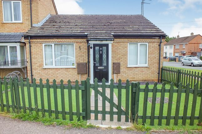 Thumbnail Terraced bungalow for sale in Larch Road, Corby