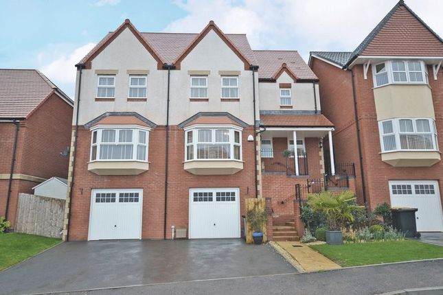 Thumbnail Detached house for sale in Stunning Executive House, Hazel Tree Grove, Newport