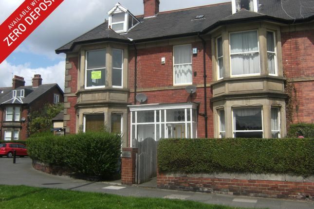 Thumbnail 4 bed flat to rent in Church Road, Gosforth, Newcastle Upon Tyne