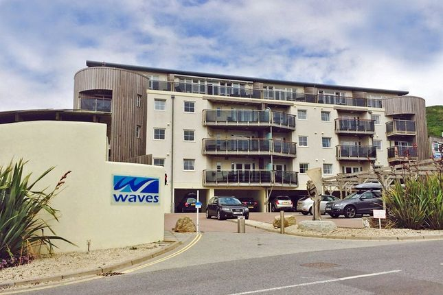 Thumbnail Flat for sale in Waves Complex, Watergate Bay, Newquay, Cornwall