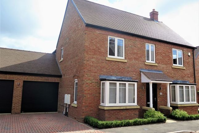 Thumbnail Detached house for sale in Merlin Close, Bodicote, Banbury