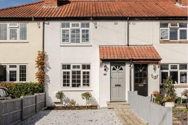 Thumbnail Terraced house for sale in Strathcona Avenue, Leatherhead, Surrey