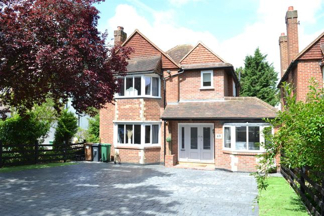 Thumbnail Detached house for sale in Nork Way, Banstead