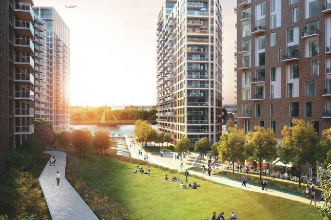 Thumbnail Flat for sale in Waterfront III, Royal Arsenal Riverside, Woolwich, Royal Arsenal Riverside