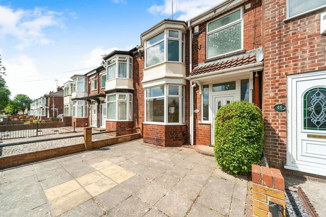 Thumbnail Terraced house for sale in Pickering Road, Hull