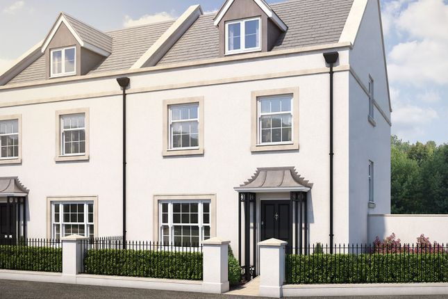 "Thumbnail Semi-detached house for sale in ""The Ripley"" at Haye Road, Sherford, Plymouth"