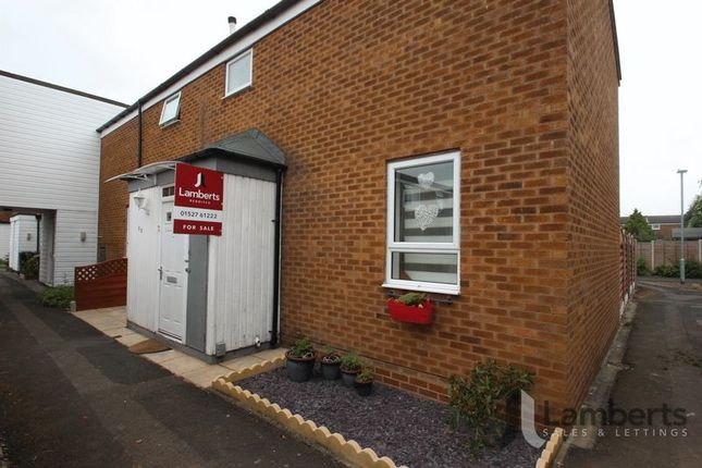 Thumbnail Terraced house for sale in Ashorne Close, Redditch