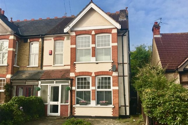 Thumbnail Semi-detached house for sale in Lawrence Road, Heath Park, Romford