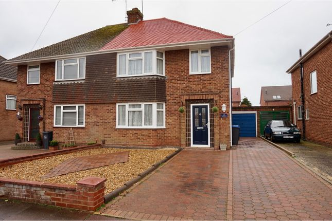 Thumbnail Semi-detached house for sale in Bolsover Road, Goring
