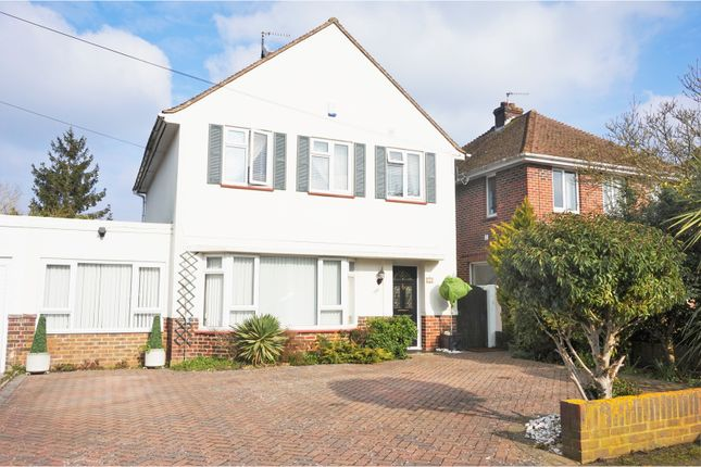 Thumbnail Detached house for sale in Garden Close, Canterbury