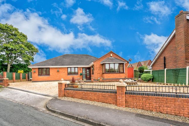 Thumbnail Detached bungalow for sale in Melbourne Road, Heath Hayes, Cannock