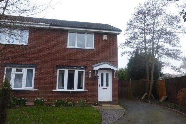 Thumbnail Semi-detached house to rent in Jackson Close, Featherstone, Wolverhampton