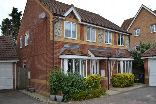 Thumbnail Semi-detached house to rent in Stirrup Close, Newbury, Berkshire