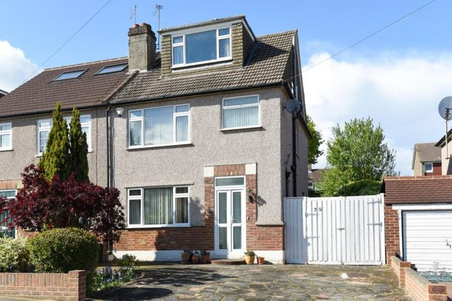 Thumbnail Semi-detached house for sale in Heath Rise, Bromley