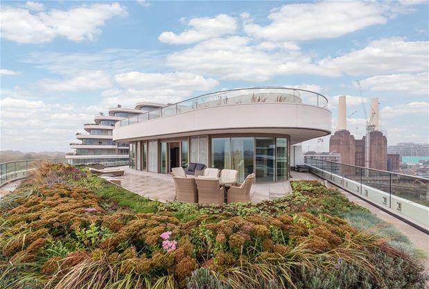 Thumbnail Property to rent in Three Bedroom. Chelsea Bridge Wharf