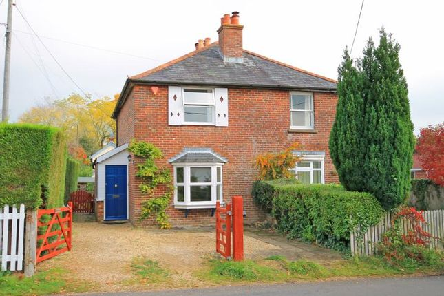 Thumbnail Semi-detached house to rent in Sway, Lymington