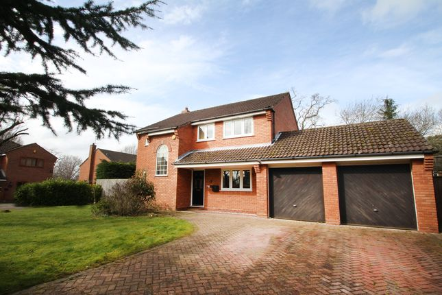 Thumbnail Detached house for sale in Burberry Grove, Balsall Common, Coventry