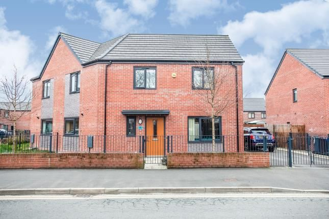 Thumbnail Semi-detached house for sale in Wenlock Way, Manchester, Greater Manchester, Uk