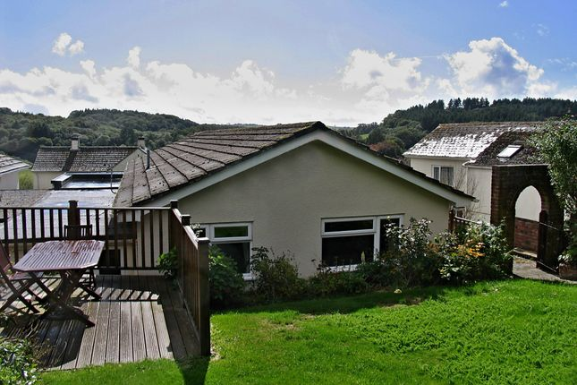 Thumbnail Detached bungalow for sale in Moor Road, Staverton, Totnes