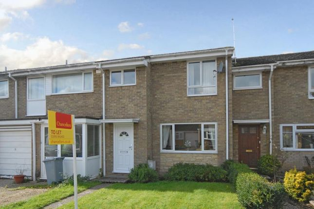 Thumbnail Terraced house to rent in Richens Drive, Carterton