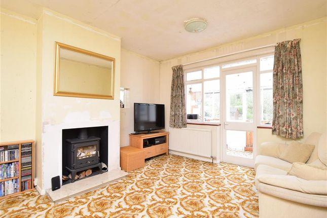 Thumbnail Semi-detached bungalow for sale in Crown Road, Edenbridge, Kent