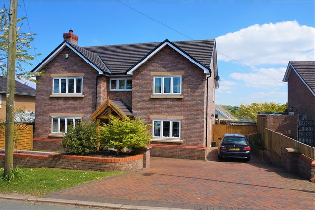 Thumbnail Detached house for sale in Babell Road, Holywell