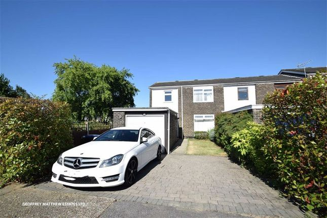 Thumbnail End terrace house for sale in The Maples, Harlow, Essex