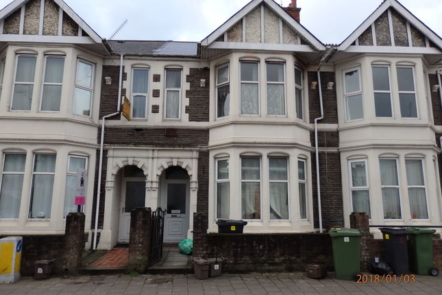 Thumbnail Terraced house to rent in Whitchurch Road, Cardiff