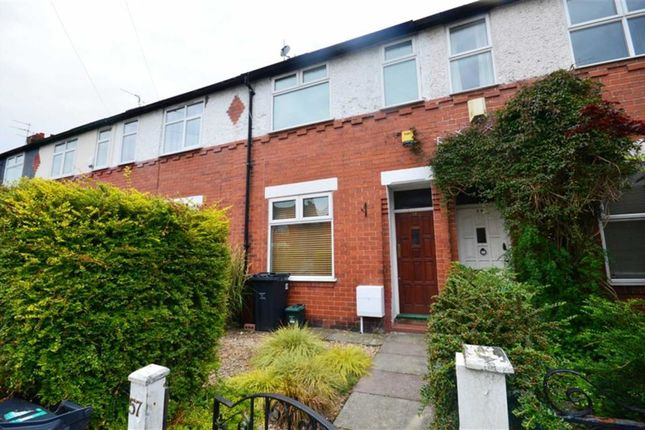 Thumbnail Terraced house to rent in Henwood Road, Withington, Manchester, Greater Manchester