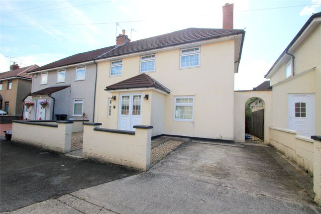 Thumbnail 3 bed semi-detached house for sale in Gores Marsh Road, Ashton, Bristol