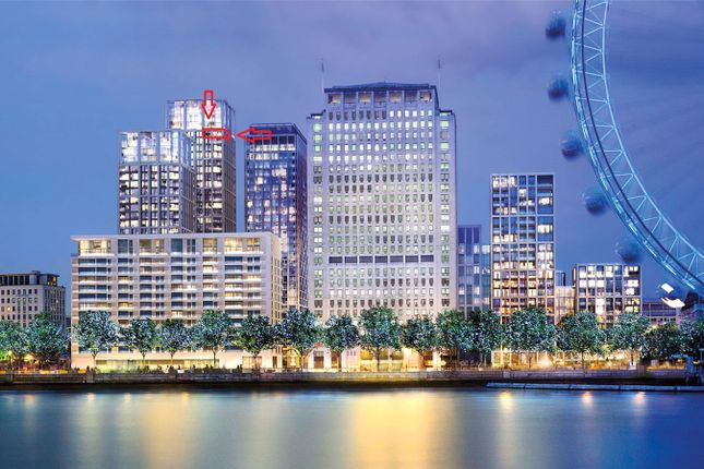 Thumbnail Flat for sale in One Casson Square, Southbank Place, Waterloo