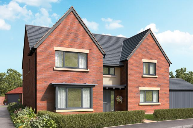 "Thumbnail Detached house for sale in ""The Greystoke"" at Cautley Drive, Killinghall, Harrogate"