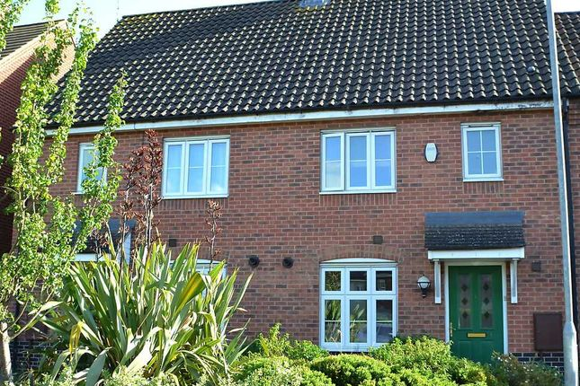Thumbnail Terraced house for sale in Beechan Drive, King's Lynn