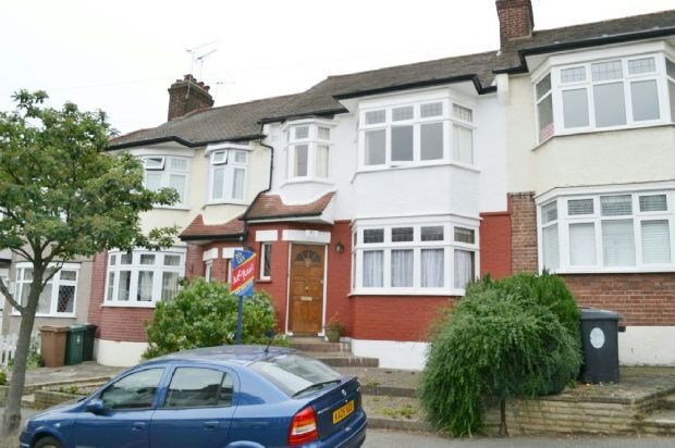 Thumbnail Terraced house to rent in Alma Avenue, London