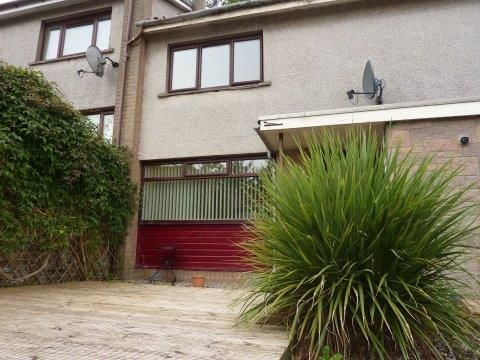 Thumbnail Terraced house to rent in Lochview Terrace, Forfar