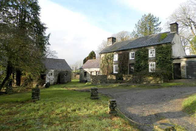 Thumbnail Farmhouse for sale in Penrherber, Newcastle Emlyn, Carmarthenshire SA38 9Rs