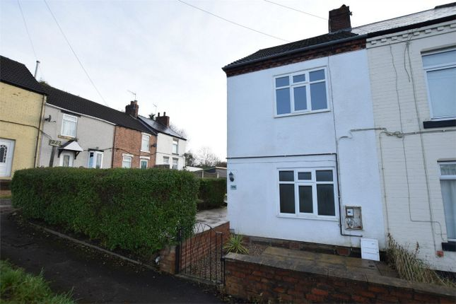 Thumbnail End terrace house to rent in Chesterfield Road, Shuttlewood, Chesterfield, Derbyshire