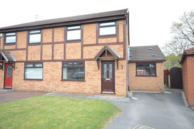 Semi-detached house for sale in Fernwood Drive, Halewood, Liverpool
