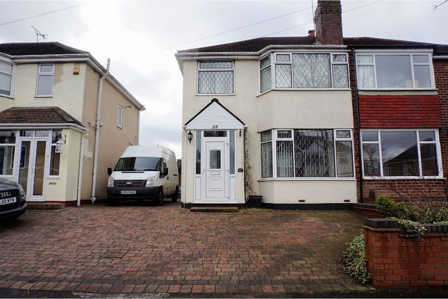 Thumbnail Semi-detached house to rent in George Frederick Road, Sutton Coldfield
