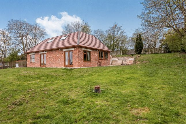 Thumbnail Detached bungalow for sale in Waggon Lane, Upton, Pontefract