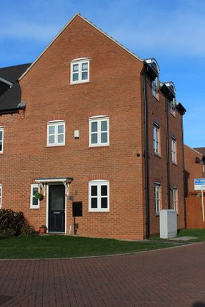 Thumbnail Semi-detached house for sale in Lynemouth Court, Arnold, Nottingham, Nottinghamshire