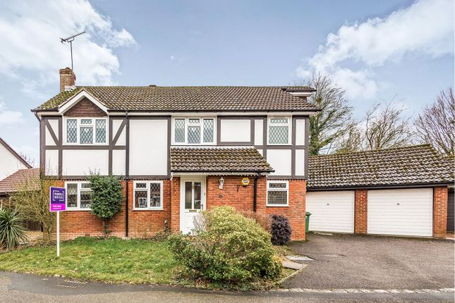 Thumbnail Detached house for sale in Pettys Brook Road, Basingstoke