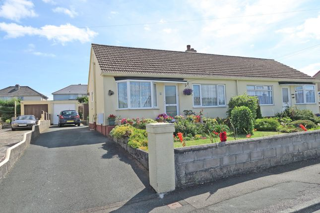 Thumbnail Semi-detached bungalow for sale in Villiers Close, Plymstock, Plymouth, Devon