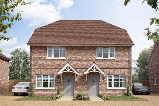 Thumbnail Semi-detached house for sale in Birch At Riverbourne, Elm Avenue, Chattenden