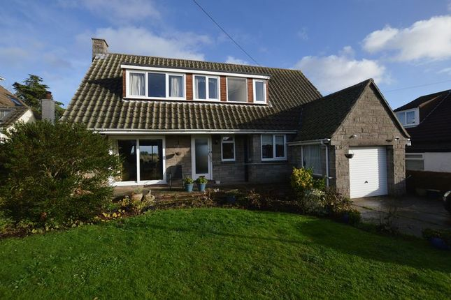 Thumbnail Detached bungalow for sale in The Crescent, Worlebury, Weston-Super-Mare