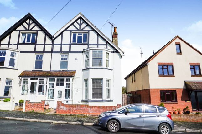Thumbnail Semi-detached house for sale in St. Michaels Road, Harwich