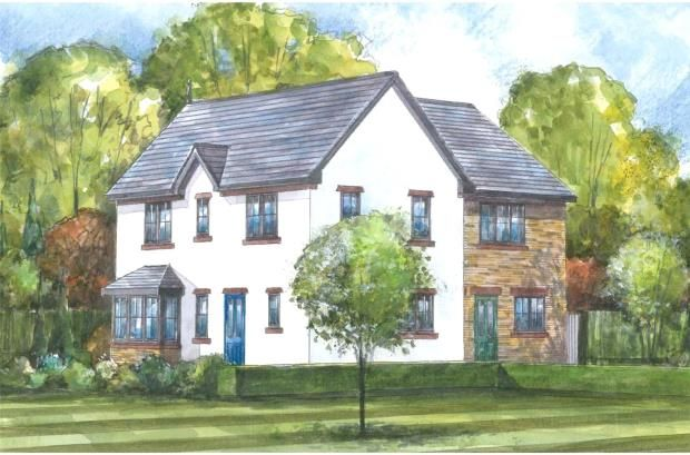 Thumbnail Semi-detached house for sale in The Caldew, St. Cuthberts, Off King Street, Wigton