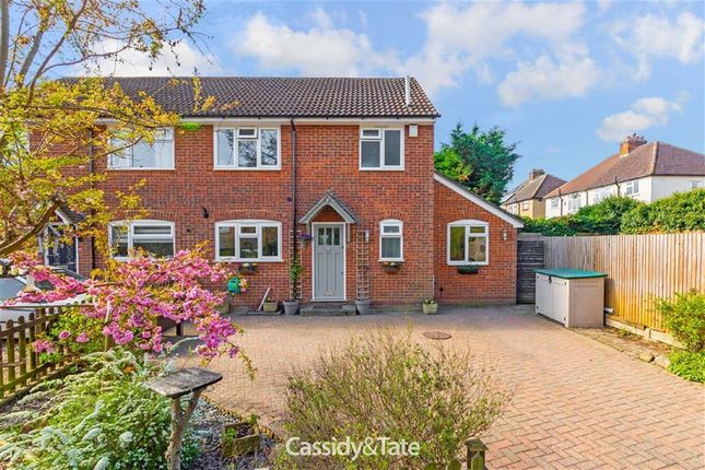 Thumbnail Semi-detached house for sale in Hyde Lane, St Albans, Herts