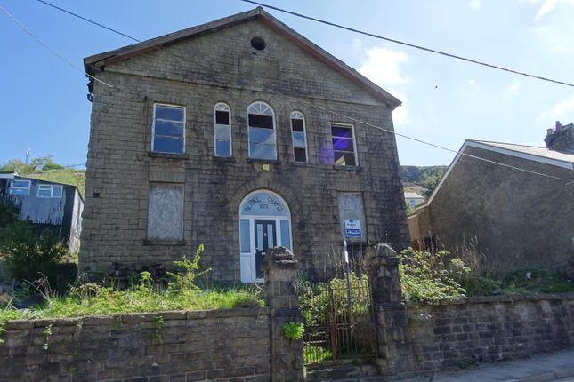 Thumbnail Detached house for sale in Commercial Street, Nantymoel, Bridgend