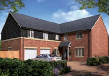 Thumbnail Detached house for sale in The Thirsk, Wimblington Road, Doddington, Cambridgeshire